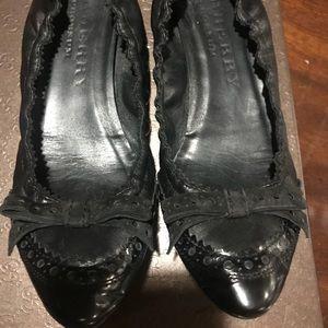 Burberry Black ballet flats